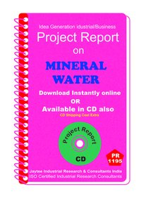 Mineral Water II manufacturing Project Report ebook