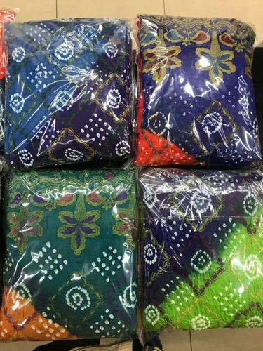 7a54478fbf Bandhani dress material in kutch Manufacturer in Anjar,Bandhani ...