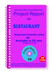 Restaurant manufacturing Project Report ebook