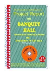 Banquet Hall establishment Project Report ebook