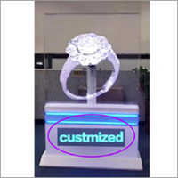 100Cm Android 3D Fan Holographic Advertising Display