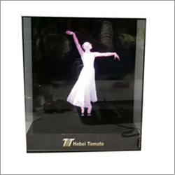 Customized Holographic Projector 3D Hologram Display LED Fan