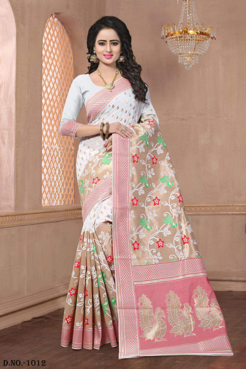 Buy Banarasi Silk Saree Online wholesale dealer in surat