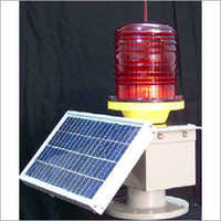 LED Solar Aviation Obstruction Light