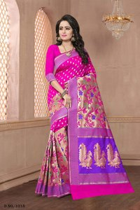Buy Banarasi Silk Saree Online wholesale dealer in surat