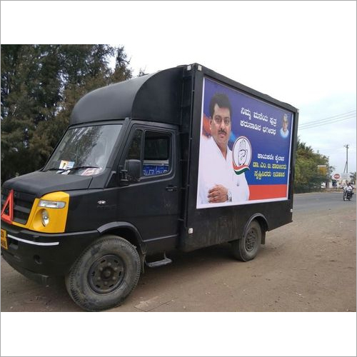 LED Mobile Van for Elections Advertisement