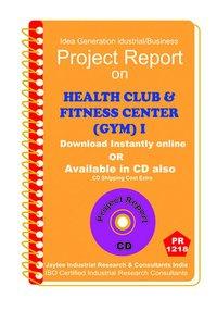 Health Club and Fitness Centre establishment ebook