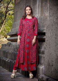 Sethnic wholesale Pearl rayon kurti catalog online supplier in surat