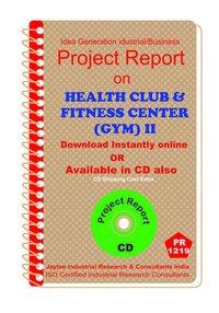 Health Club and Fitness Centre (GYM)II establishment ebook