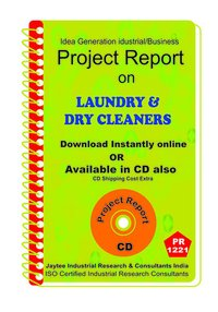 Laundary and Dry Cleaners manufacturing Project Report ebook