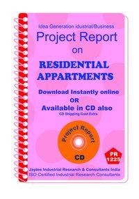 Residential Appartments establishment Project Report ebook