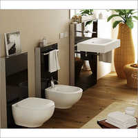 Vitrossa Wash Basin With Pendestal