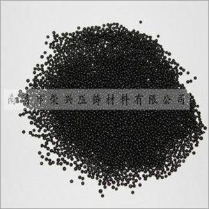 Die Casting Shot Bead Black & White