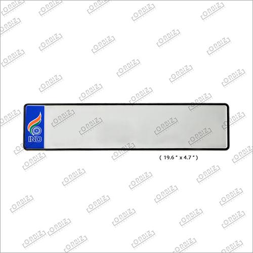 Ind Blue Flag Car Long