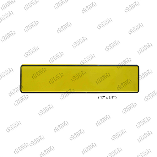 Taxi Car Medium Number Plate