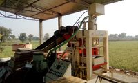 Fly ash bricks making machine
