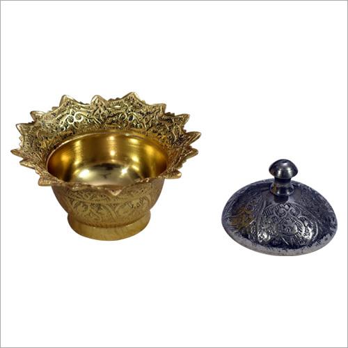 Brass Sindoor Box