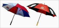 GOLF UMBRELLA-CHROME HND OPN