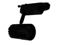 Track Light 10W Black
