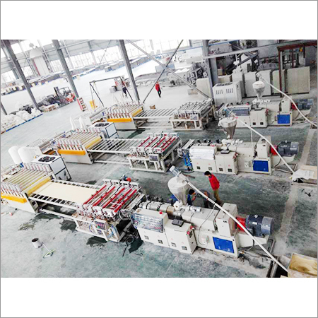Pvc Floor Making Machine