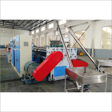 PE PP Hollow Construction Formwork Machine