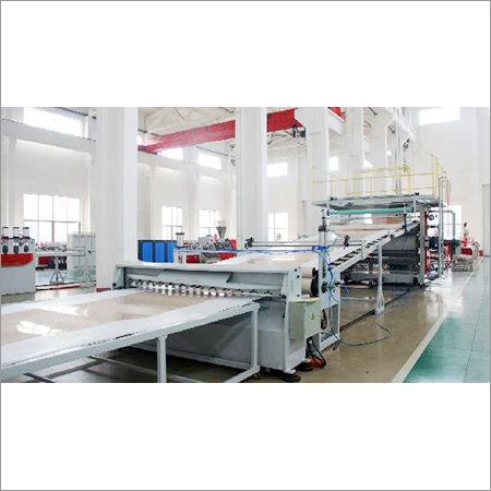 PVC Imitation Marble Board Machine