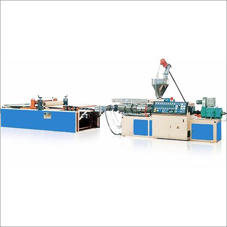 PVC Wave Board Machine