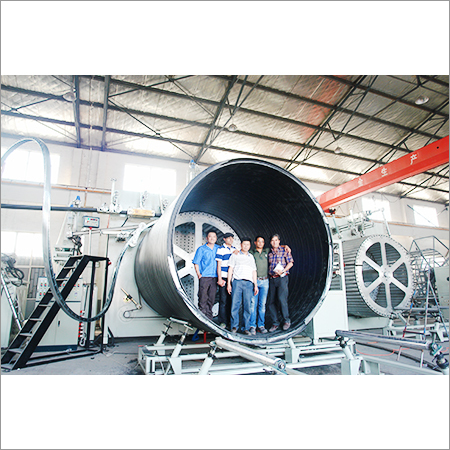 HDPE And Steel Reinforced Pipe Machine