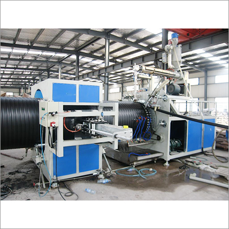 HDPE Hollow Winding Pipe Machine