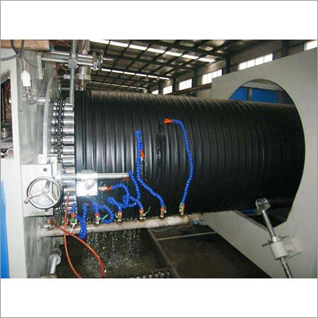 HDPE Hollow Winding Pipe Machine