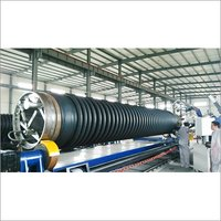 HDPE Krah Pipe Machine