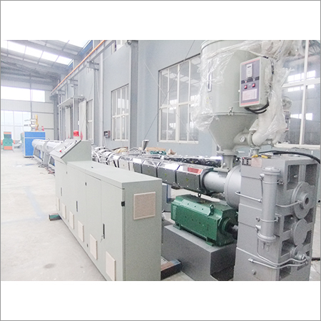 HDPE Water And Gas Supply Pipe Machine