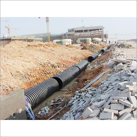 Inner Rib Enhanced Corrugated pipe Machine