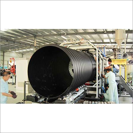 Spiral Corrugated Pipe Making Machine
