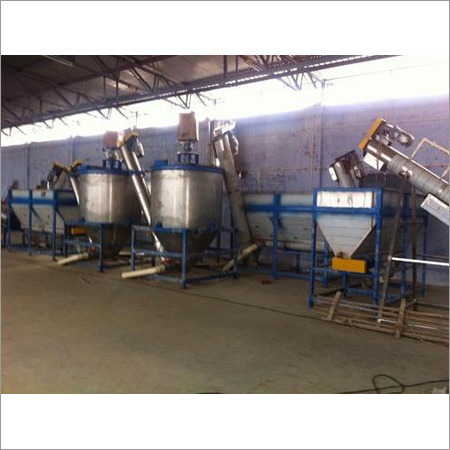 Pet Bottle Recycling Plant