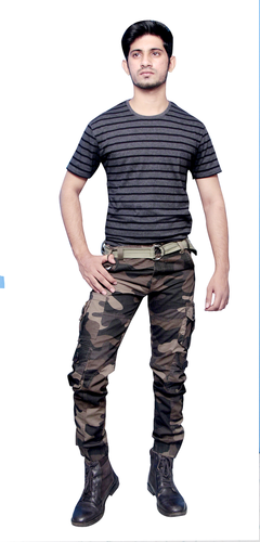 Millitary 10Pocket Cargo Pant (F)
