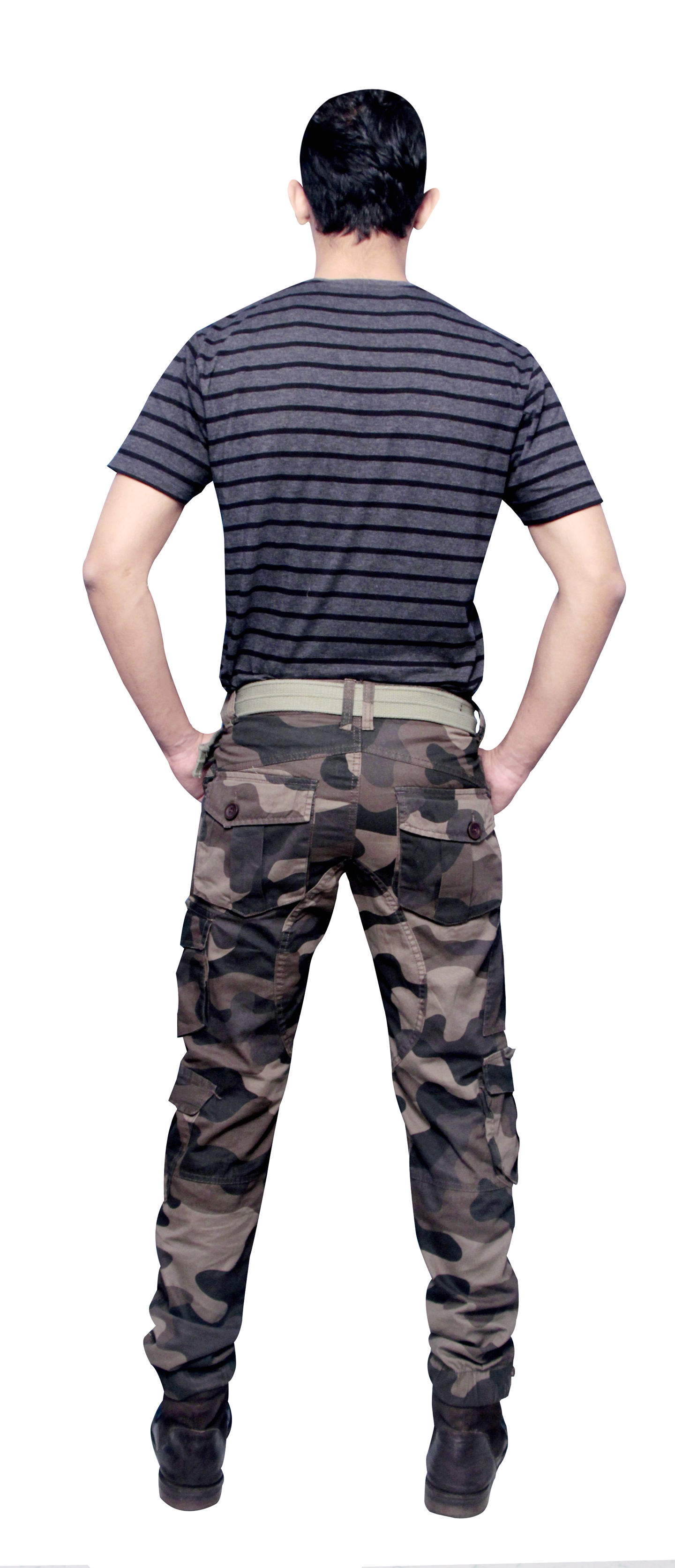Millitary 10 Pocket Cargo Pant
