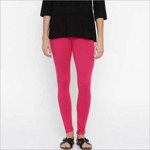 Plain Ankle Length Leggings