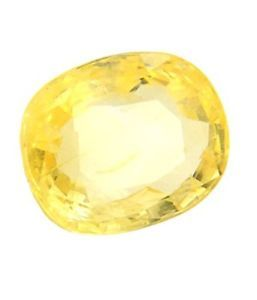 Yellow Sapphire (oval)