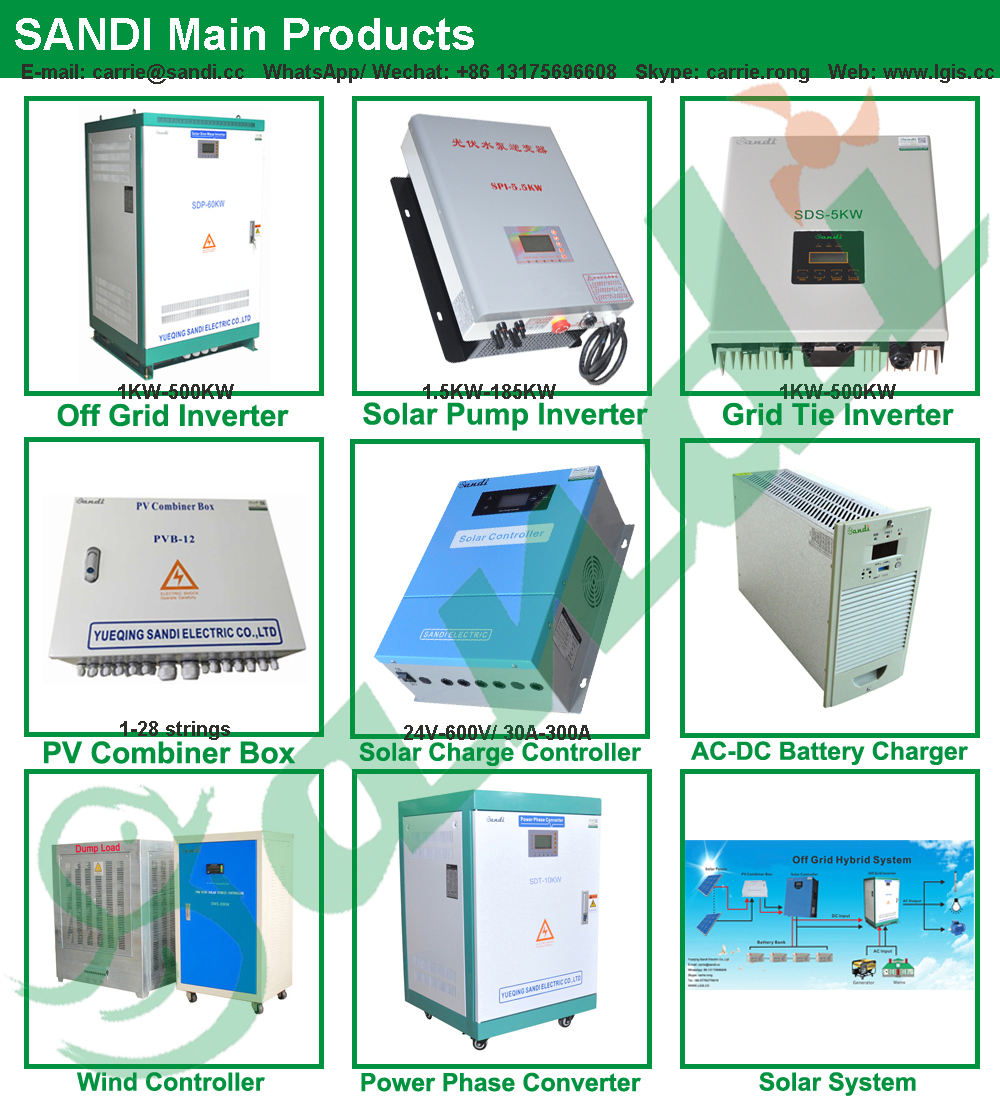 40kw 3 Phase Off Grid Solar Inverter