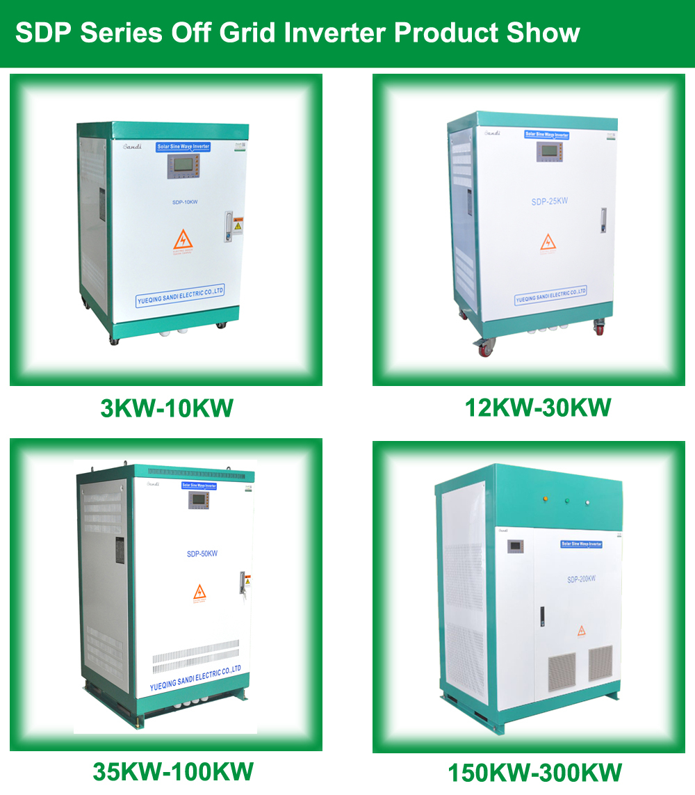 200kw Solar Stand-alone Inverters