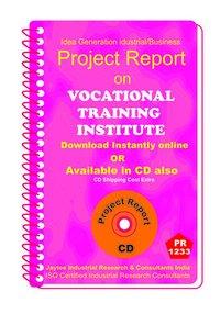 Vocational Training Institute establishment Project Report ebook