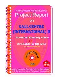 Call Centre (International ) establishment ebook