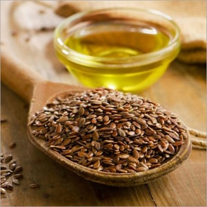 Organic Cold Pressed Flax Seed Oil