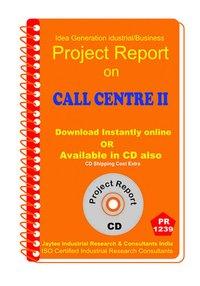 Call Centre II establishment Project Report ebook