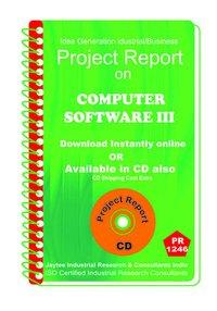 Computer Software III establishment Project Report ebook