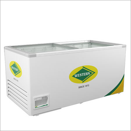 Deep Freezer Glass Top