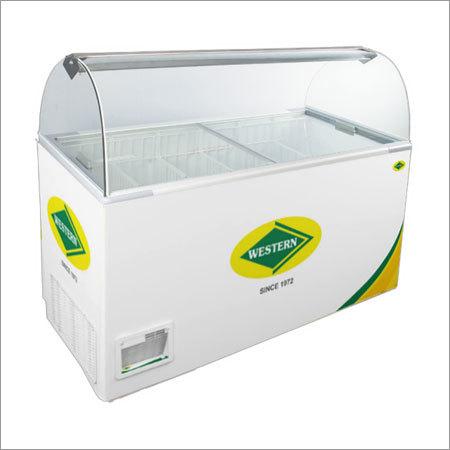 Western Scooping Parlour Deep Freezer