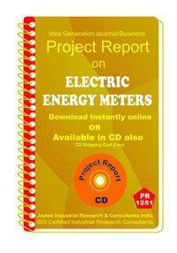 Electric Energy Meters manufacturing Project Report ebook