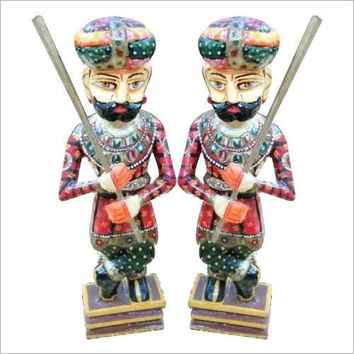 Wooden Handicraft Soldiers